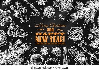 Vanoce Jidlo Kresba Stock Vectors Images Vector Art Shutterstock