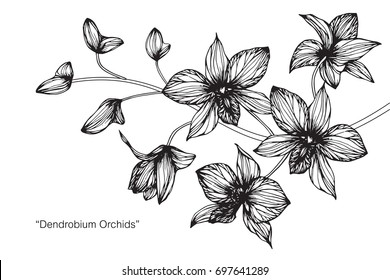 Black And White Flower Images Stock Photos Vectors Shutterstock