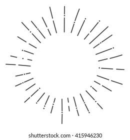 hand drawn sunbursts, vector illustration, graphic design, creative, abstract