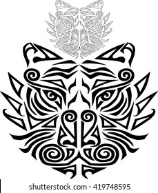 301fede0b Maori Face Stock Vectors, Images & Vector Art | Shutterstock