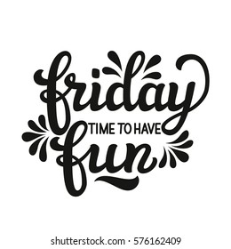Friday Fun Images Stock Photos Vectors Shutterstock