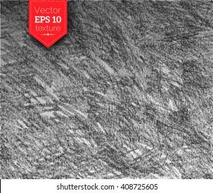 Hand drawn vector graphite pencil hatching texture background.