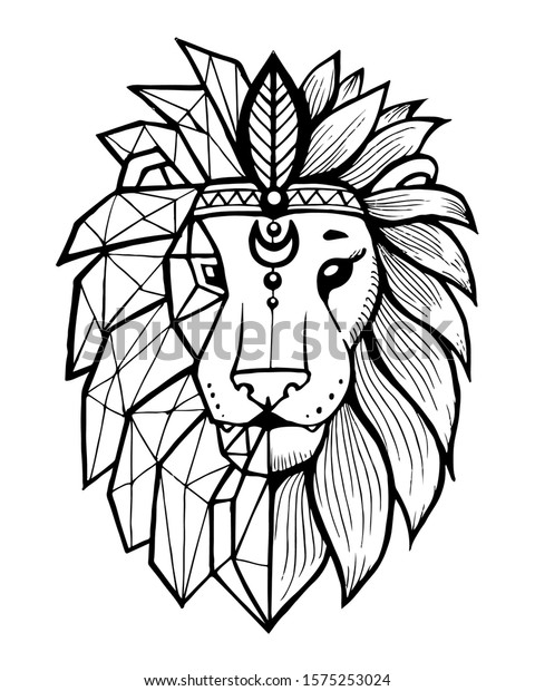 Outline Of Lion Face / Additionally, you can browse for other related vectors from the tags on topics black, drawing outline, face.