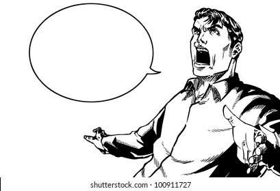 Old Man Look Down Stock Vectors Images Vector Art Shutterstock