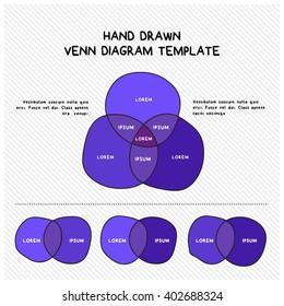 venn diagram hand drawn vector illustration stock vector hd royalty rh shutterstock com Golf Tee Vector Golf Cart Vector