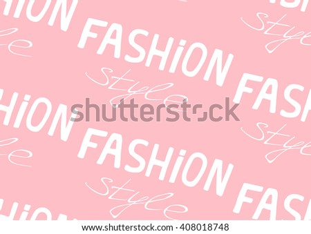 Hand Drawn Vintage Seamless Vector Pattern Stock Vector