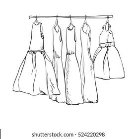 Dress Sketch Images, Stock Photos \u0026 Vectors