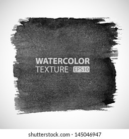 Hand Drawn Watercolor Grunge background. Vector Illustration