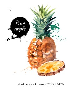 Ananas Dessin Stock Illustrations Images Vectors