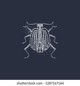 Imágenes, fotos de stock y vectores sobre Beetle Art Tattoo