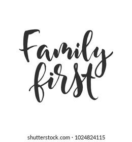 Imágenes Fotos De Stock Y Vectores Sobre Familia Frases Shutterstock