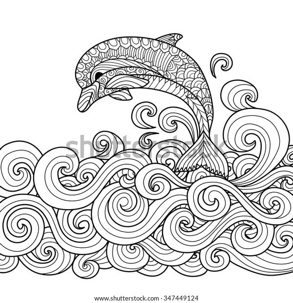 Kreslený stříkat