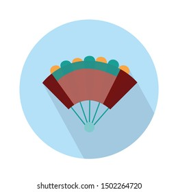 hand fan icon - From Movie and film icons set