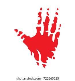 hand footprint icon