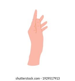 hand gesture icon illustration element