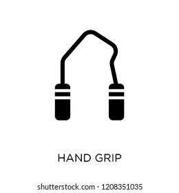Hand grip icon. Hand grip symbol design from Gym and fitness collection. Simple element vector illustration on white background.