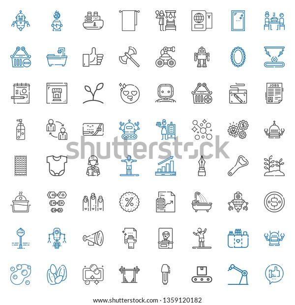 Hand Icons Set Collection Hand Like Stock Vector (Royalty Free