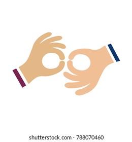 hand language icon