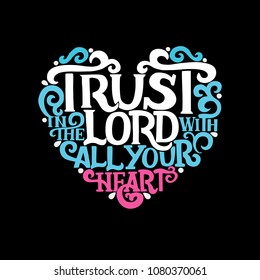 3215 Trust In The Trust In The Lord Images Royalty Free Stock