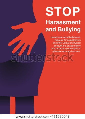 Stop sexual harassment poster free