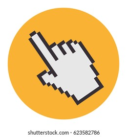 hand mouse pointer icon