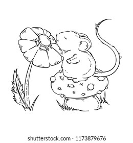 Mouse Drawing Images, Stock Photos & Vectors   Shutterstock