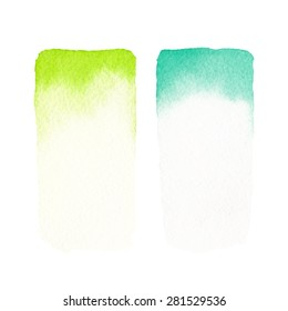 Hand painted watercolor backgrounds. Watercolor washes.