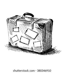 1000+ Suitcase Sketch Stock Images, Photos \u0026 Vectors