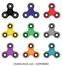 Hand spinner. Fidget toy for increased focus, stress relief.