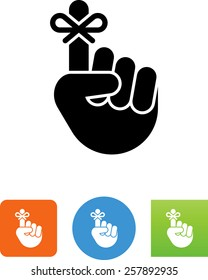 Hand with string / reminder icon