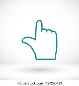 hand vector icon