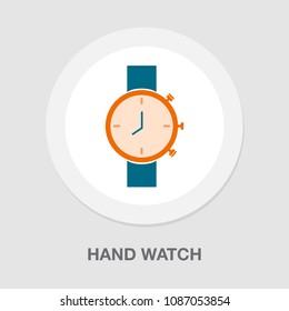 hand watch icon, Clock icon - Clock symbol, vector Clock isolated