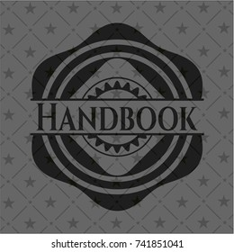 Handbook black badge