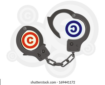 handcuffs right holder