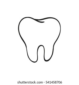 Tooth Drawing Images, Stock Photos & Vectors | Shutterstock