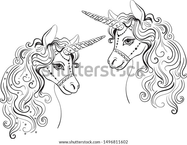Free Printable Unicorn Coloring Pages For Kids Free Colouring ... | 466x600