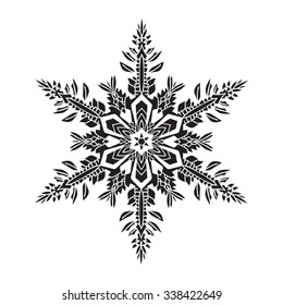 Snowflake Tattoo Images Stock Photos Vectors Shutterstock