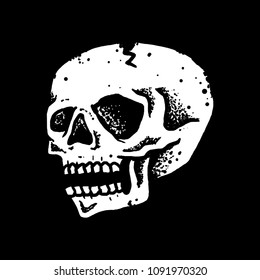 Handdrawn Skull Vector art