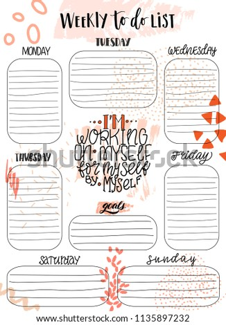 work to do list templates