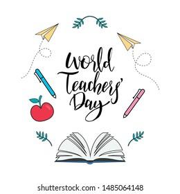Teachers Day Images, Stock Photos & Vectors   Shutterstock