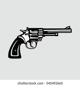 Handgun Vector Illustration