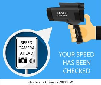Speed Gun Images, Stock Photos & Vectors   Shutterstock