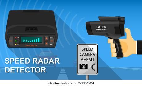 Handheld Speed Radar Lidar Laser Camera Gun Police Officer Operator Detection Speed Doppler Effect Reflection Electronic Device Equipment Tool Limit Speed Vehicle Roadway Monitor Alert Warning