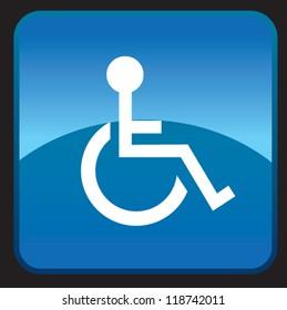 Handicap Icon Tablet