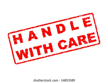 handle with care stamp