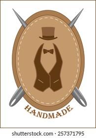 Handmade icon.