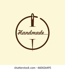 Handmade Sewing Logo
