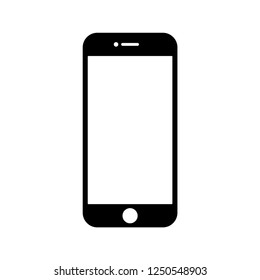 Handphone icon vector