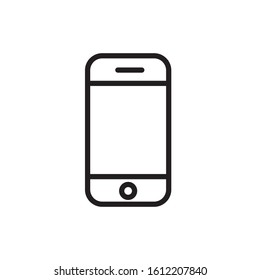 Handphone icon vector design template