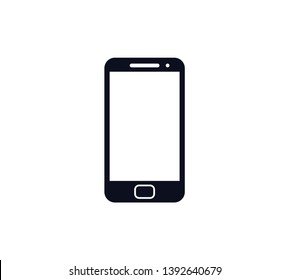 Handphone icon vector logo template
